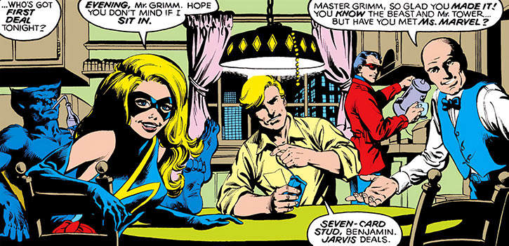 Ms. Marvel (Carol Danvers) (Marvel Comics) 1980s poker night