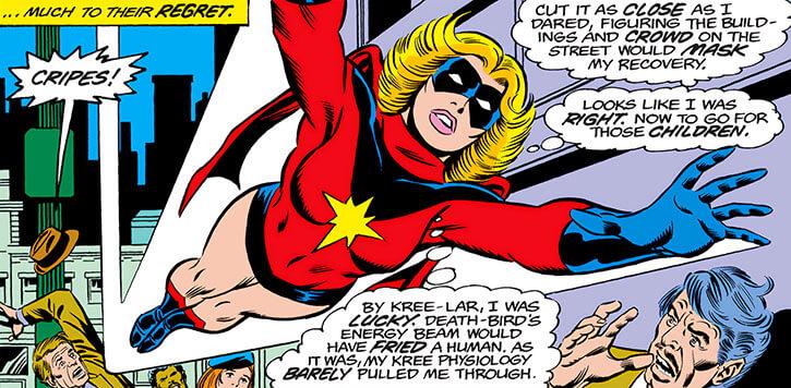 Ms Marvel Carol Danvers Marvel Comics 1970s