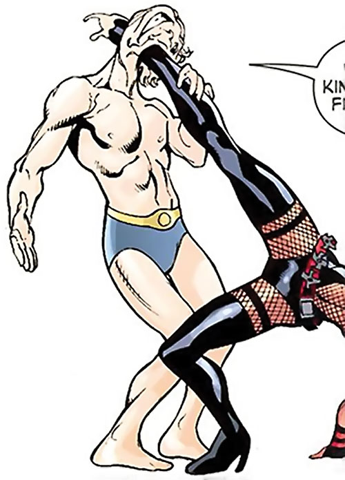 Muck the Unknownable (Wonder Woman enemy) (DC Comics) vs. Black Canary