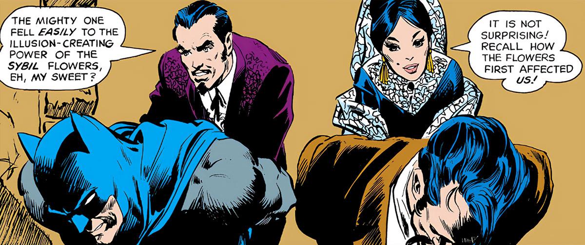 Dolores Juan Muerto - Batman - DC Comics - Mexico - captives