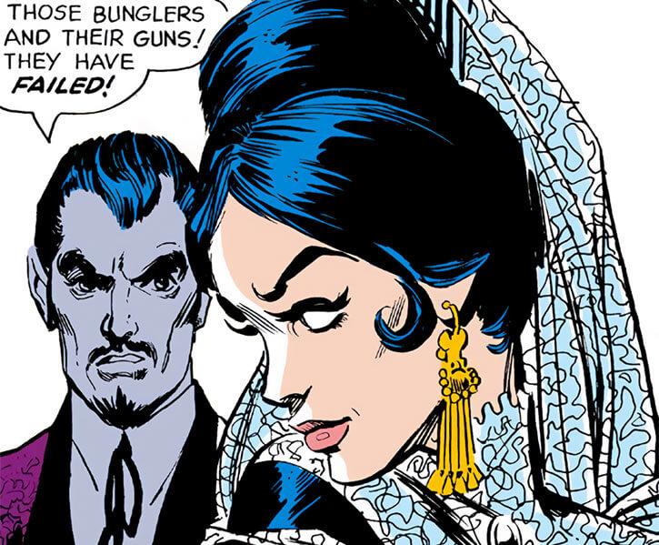 Dolores Juan Muerto - Batman - DC Comics - Mexico - Faces closeup