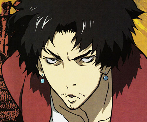 Mugen (Samurai Champloo) face closeup