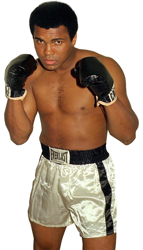 Muhammad Ali (boxer) colour photo