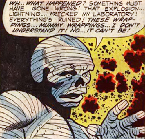 The Mummy (Peter Cannon Thunderbolts enemy) (Charlton Comics)
