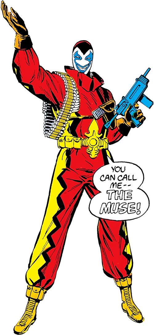 Muse (Blue Beetle enemy) (DC Comics)