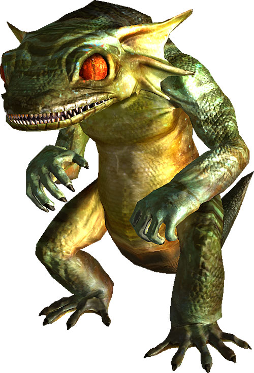 Fallout mutant gecko
