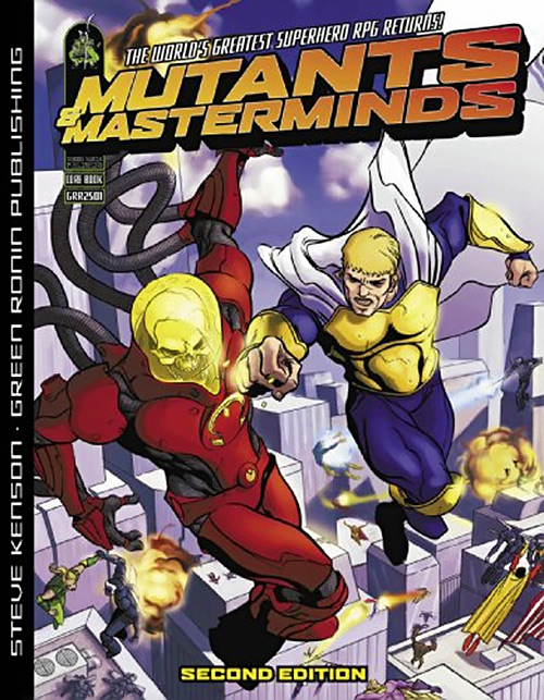 Mutants & Masterminds 2nd edition cover