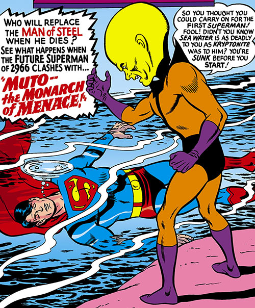 Muto (Superman 2465 enemy) (DC Comics)