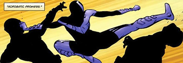 Myriad (Spencer Bridges) kung-fu fighting