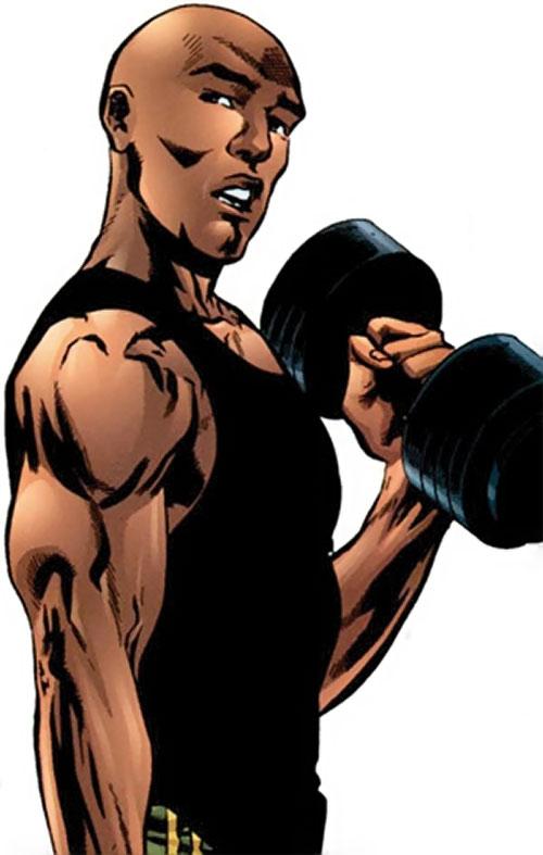 Myriad of Dynamo 5 (Image Comics) exercising