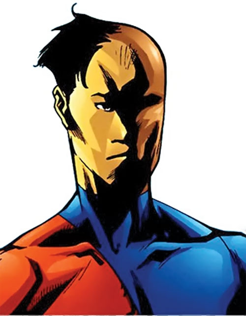 Myriad of Dynamo 5 (Image Comics) morphing his face
