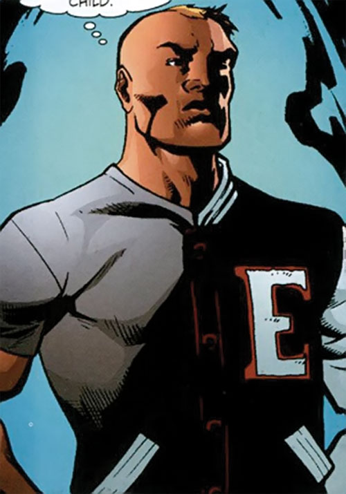 Myriad of Dynamo 5 (Image Comics) with a letter jacket