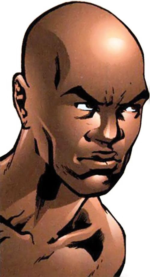 Myriad of Dynamo 5 (Image Comics) face closeup