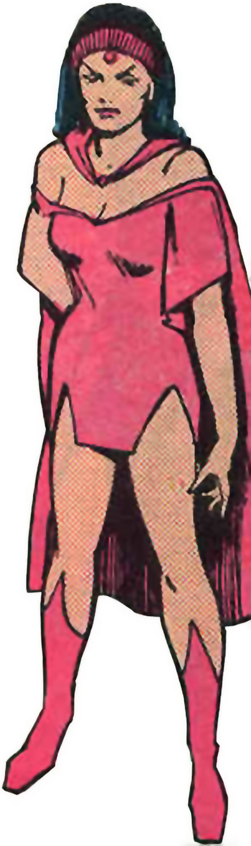 Mystelor of the Taurus Gang (Legion of Super-Heroes enemy) (DC Comics) from an old sourcebook