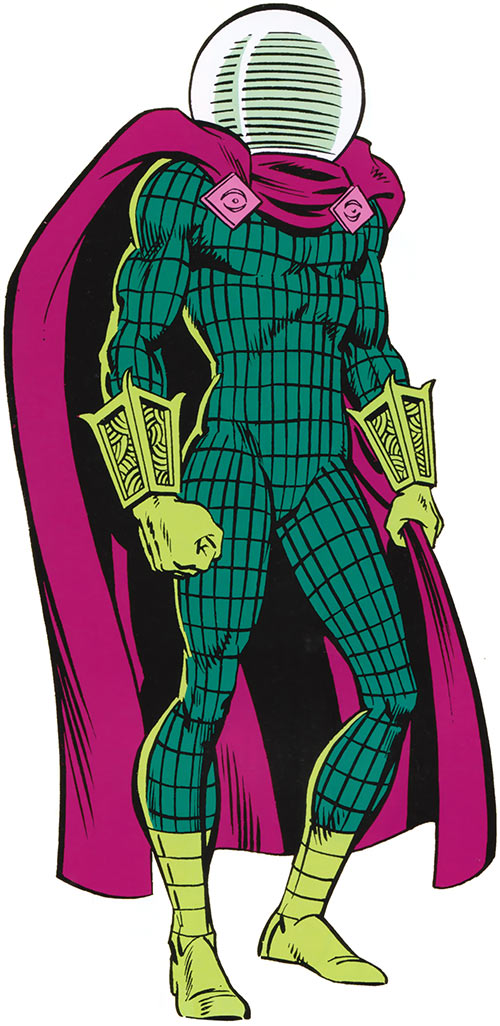 Mysterio (Spider-Man enemy) (Marvel Comics) classic illustration