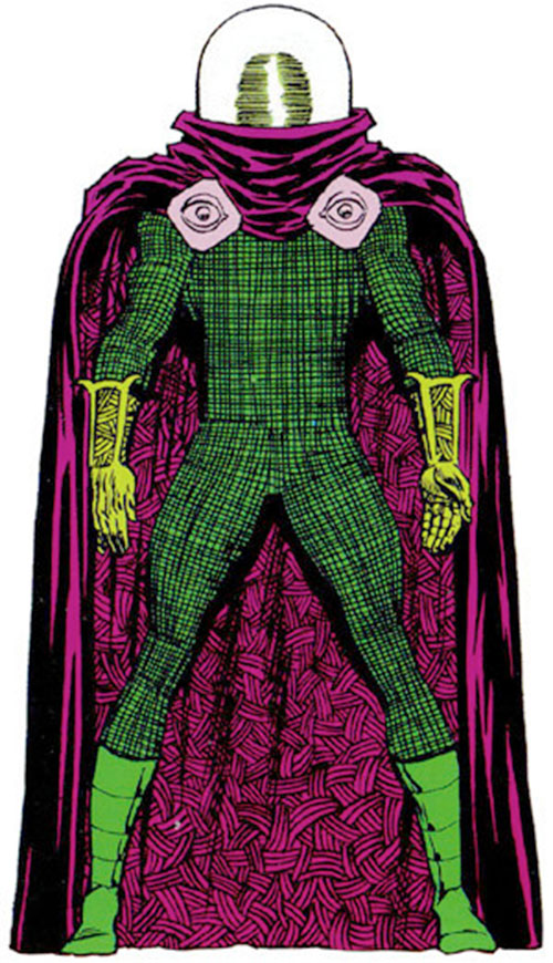 Mysterio (Spider-Man enemy) (Marvel Comics) from the master edition handbook