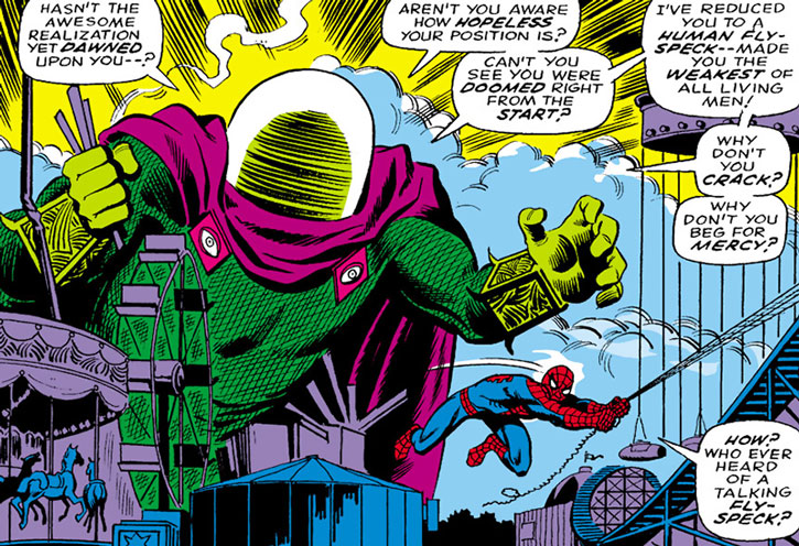 Mysterio vs. Spider-Man