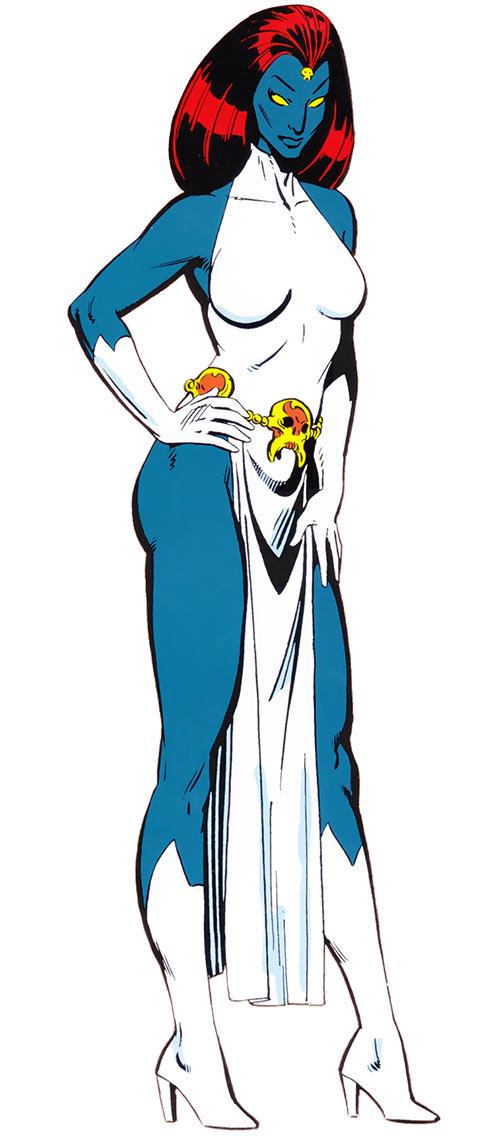 Mystique (Marvel Comics) (X-Men enemy) Marvel Comics handbook Paul Smith