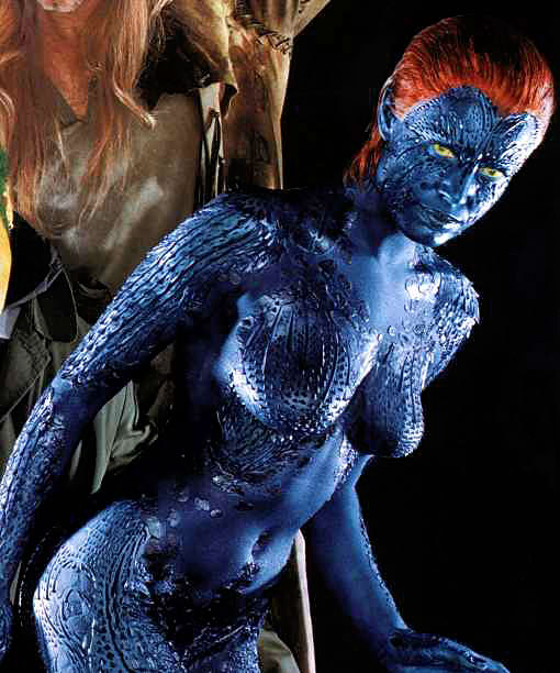 Apologise, rebecca romijn stamos as mystique pics excited