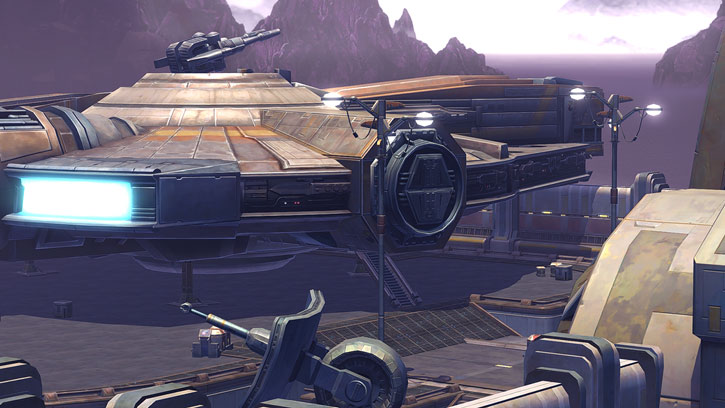 SWTOR - Star Wars the Old Republic- Cathar Smuggler - Corellian freighter