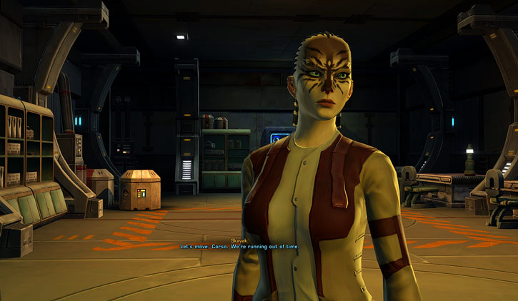 SWTOR - Star Wars the Old Republic- Cathar Smuggler - workshop