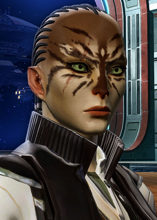 SWTOR - Star Wars the Old Republic- Cathar Smuggler - Mytasha Shiv