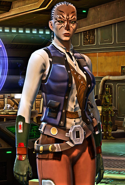 Mytasha Shiv Star Wars Old Republic smuggler HD test