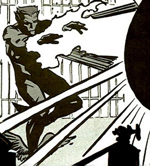 Namor (Marvel Comics)'s N2 clone blasting