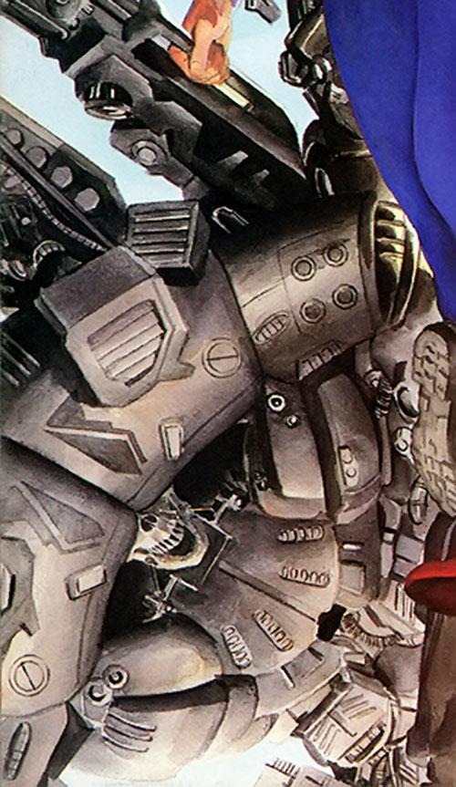 NIL-8 armor details