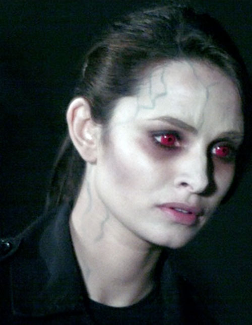 Nadia Santos (Mia Maestro in Alias) as a zombie