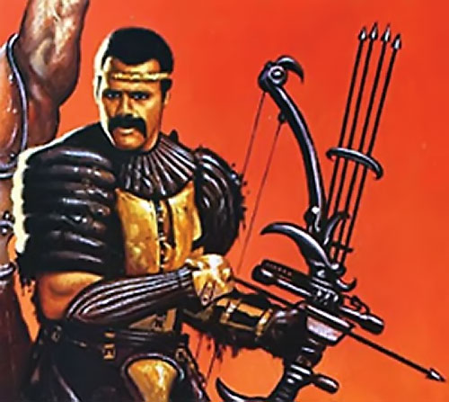 Nadir (Fred the Hammer Williamson in The New Barbarians) poster detail