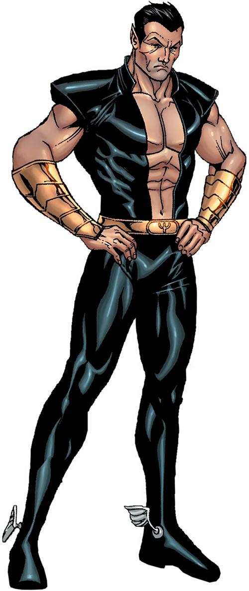 Namor the Submariner (Marvel Comics) Steve Niven art from the Mystery sourcebook