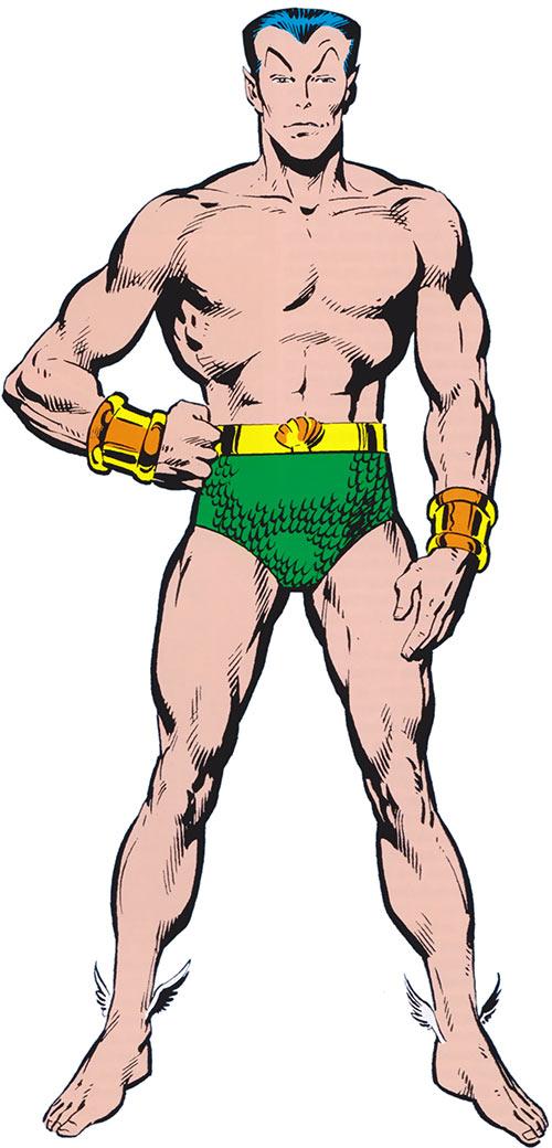 Namor the Submariner (Marvel Comics) from the older handbook