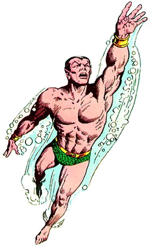 Namor the Submariner (Marvel Comics) 1970s art