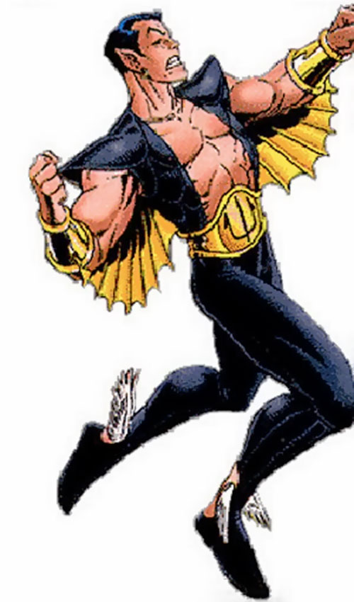 Namor the Submariner (Marvel Comics) with the winged costume