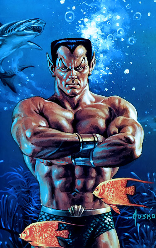 Namor the Submariner (Marvel Comics) by Jusko masterpieces painting