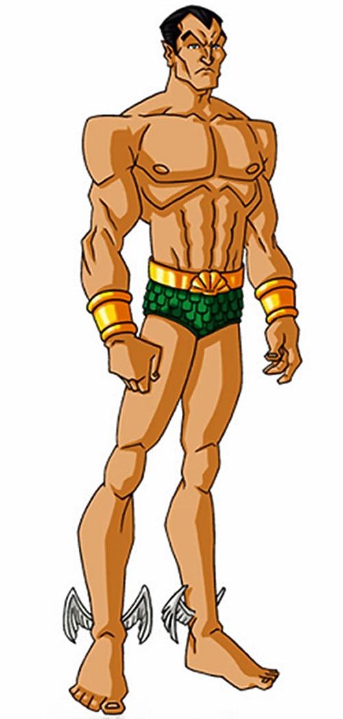 Namor the Submariner (Marvel Comics) by RonnieThunderbolts 1/2