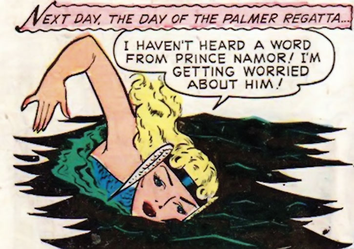The Golden Age Namora swimming