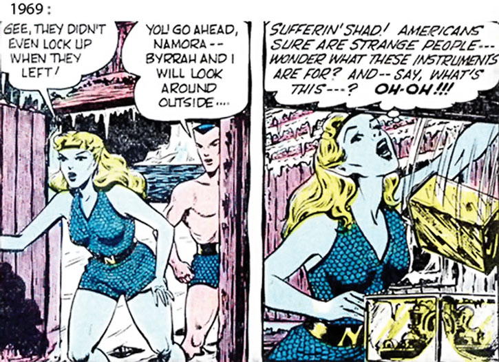 The 1969 version of Namora