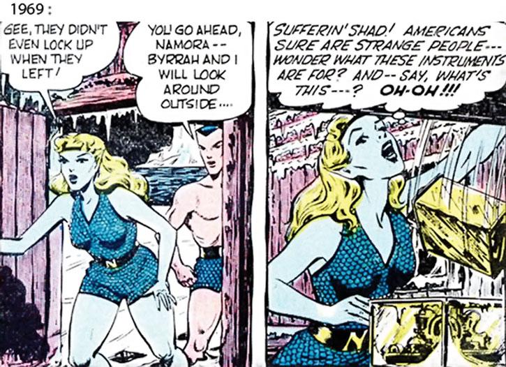 The 1969 version of Namora