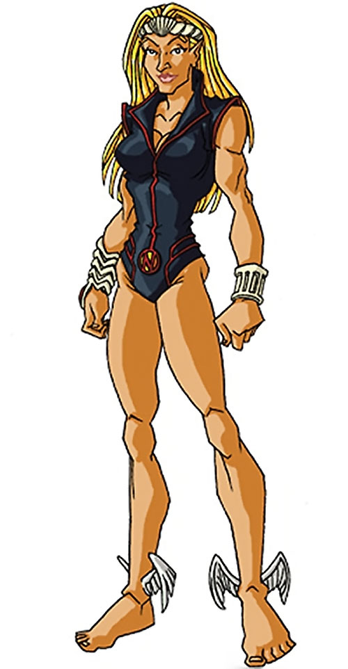 Namora of the Agents of Atlas (Marvel Comics) by RonnieThunderbolts - black swimsuit