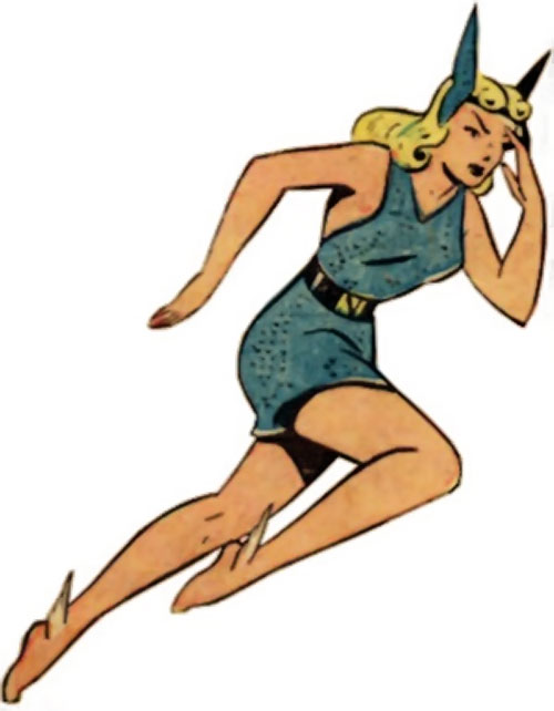 Namora (Golden Age Marvel Timely Comics) running
