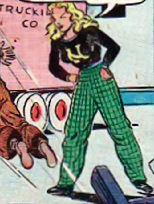 Namora (Golden Age Marvel Timely Comics) in American clothing