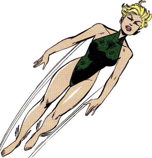 Namorita of the New Warriors (Classic era) (Marvel Comics) by Byrne