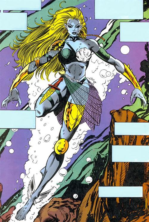 Namorita (Marvel Comics) as Kymaera full