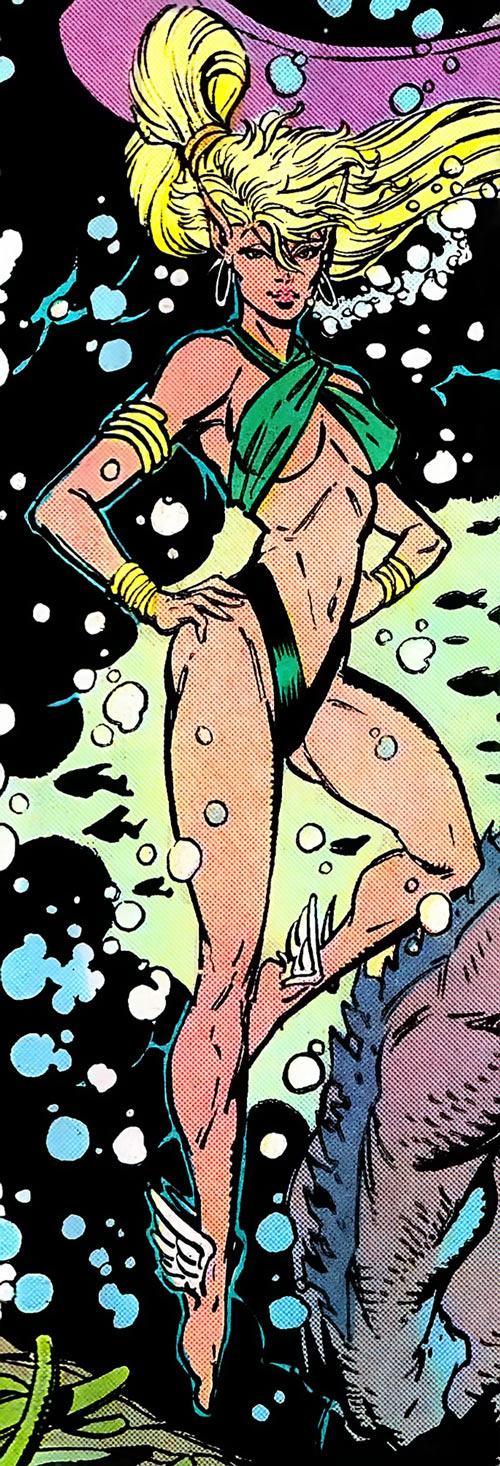 Namorita (Marvel Comics) body shot by Liefeld