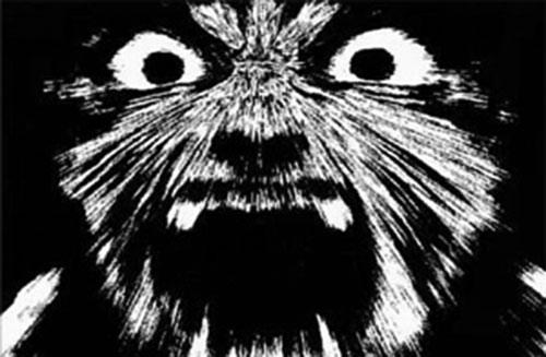 Naruto's fox face