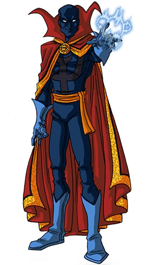 Necromancer (Doctor Strange evil double) (Marvel Comics) by RonnieThunderbolts