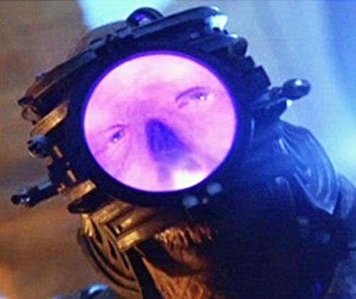 Necromonger (Riddick movies) lensor closeup