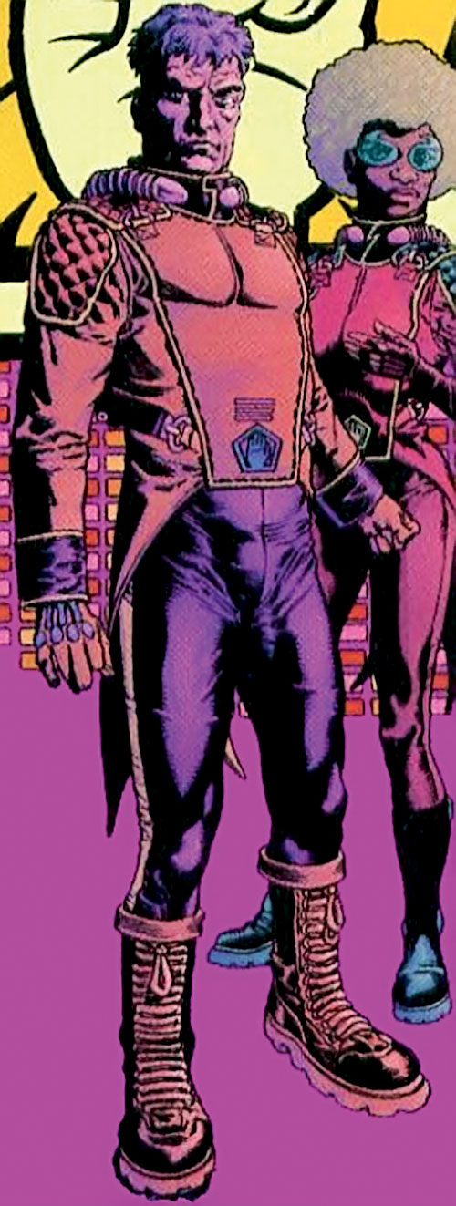 Ned Slade (Grant Morrison's The Filth) with his Hand uniform
